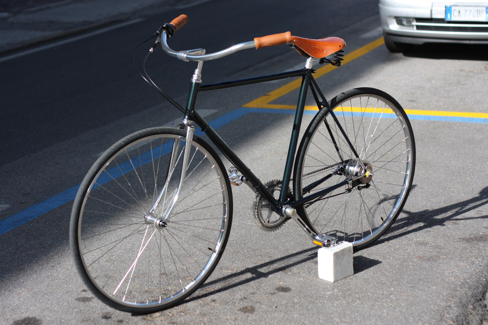 Bicicletta Vintage Restauro E Conversione Da Vecchia Bici Corsa A
