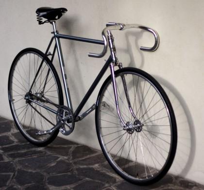 bici corsa in acciao anni 70