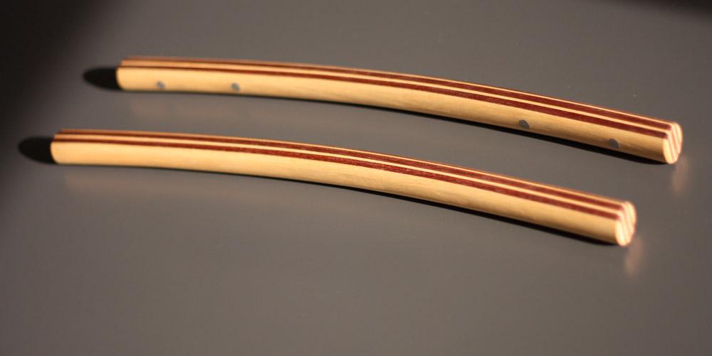 Manubrio semi-diritto, 45 cm circa.