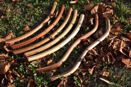 Manubri vintage in legno