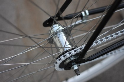 Mozzo a contropedale Velosteel
