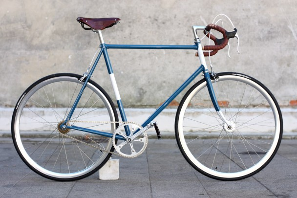 Bici singlespeed Biascagne Cicli