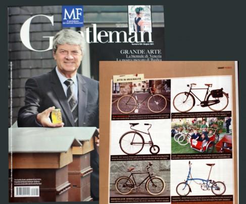 Gentleman, inserto di Milano Finanza