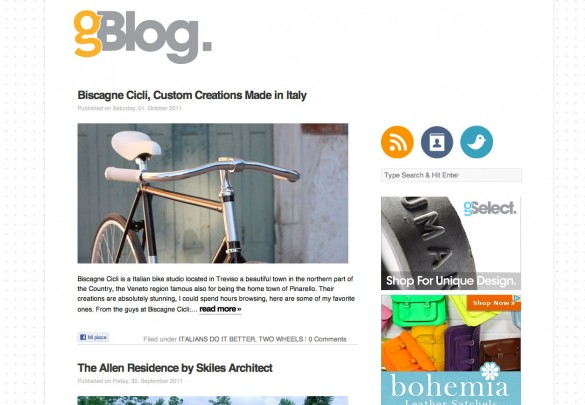 Gessato Blog