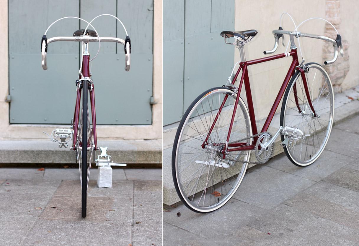 Bici Corsa Vintage Est Restyling A Singlespeed Biascagne Cicli