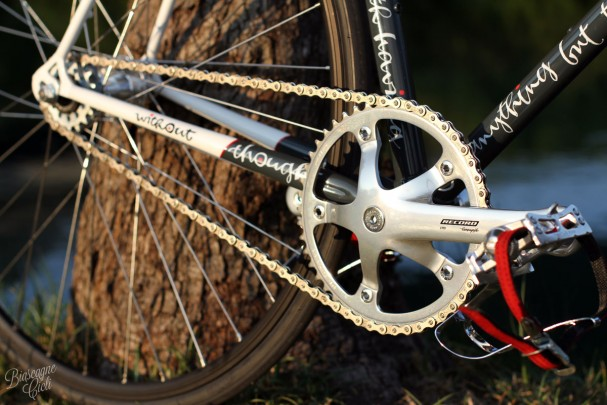 Guarnitura Campagnolo Pista Record